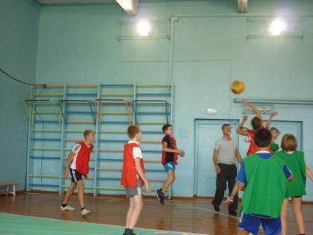 Соревнования баскетбол